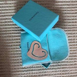 Tiffany & Co. Elsa Peretti Heart Bookmark